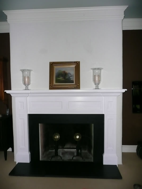 Paneled Fire Surround
