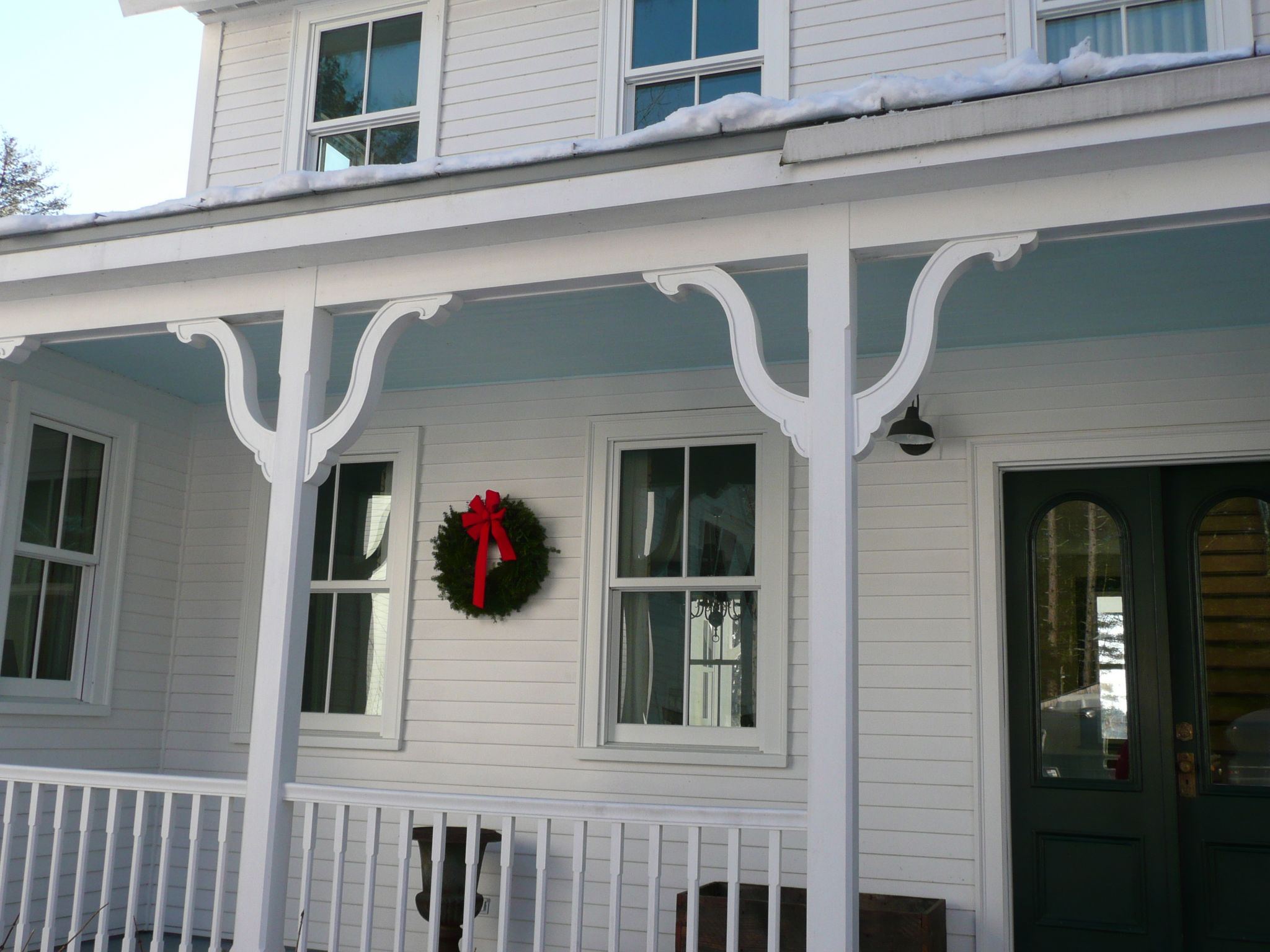 Wooden Porch Brackets